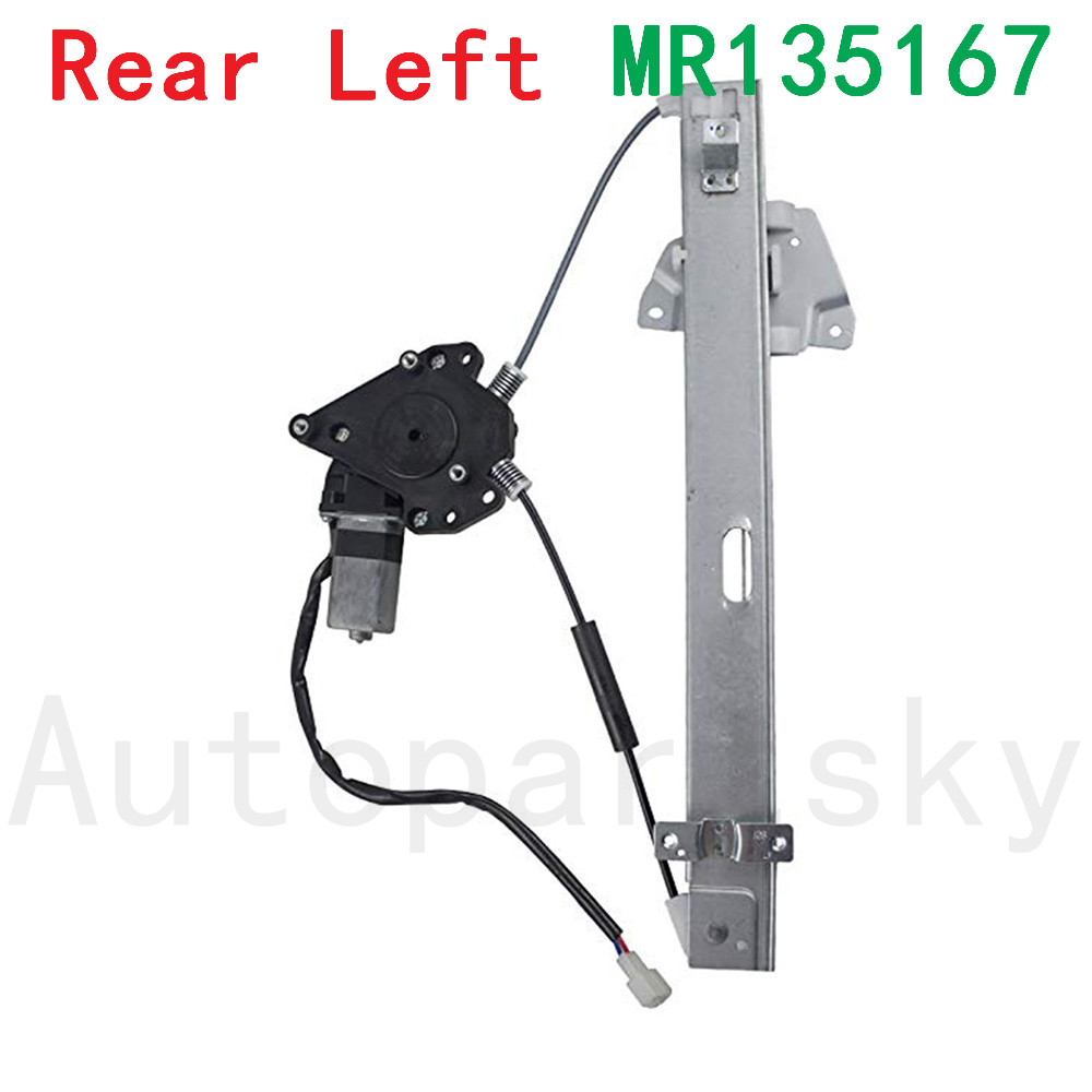HONDA CRV CR-V OEM LH LR DRIVER REAR DOOR WINDOW GLASS MOTOR REGULATOR