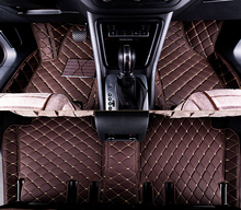 full covered wholy surrounded rugs special car floor mats for Mitsubishi Pajero Sport 5seats durable carpets