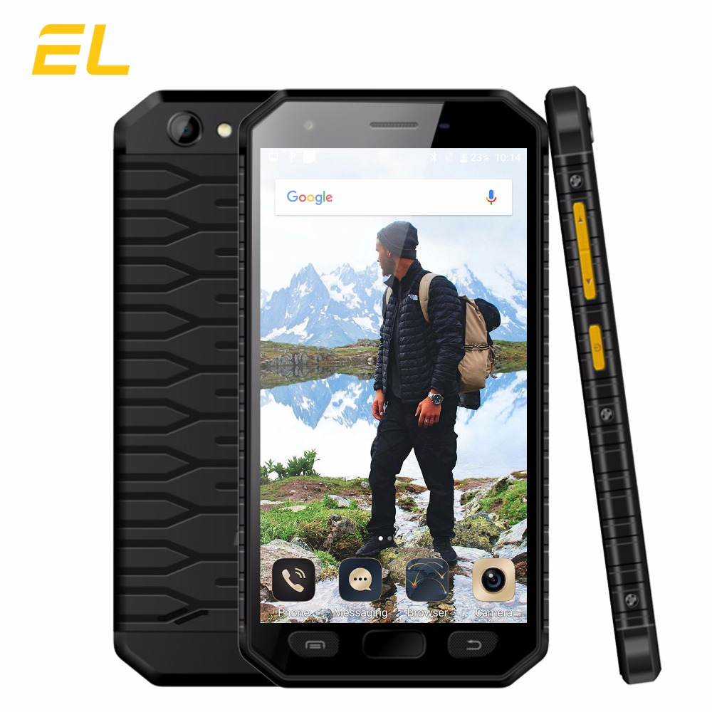 "Original EL S30 4G Smartphone Waterproof 4.7"" Quad Core 2GB RAM 16GB ROM Phones Dual Sim Fingerprint Unlocked Mobile Phone Lte"