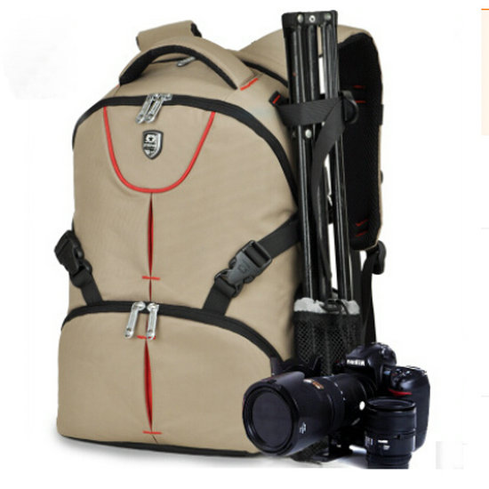 Backpack Waterproof Camera Bag Camera Case For Nikon Canon Sony Samsung Pentax Laptop bag SY03