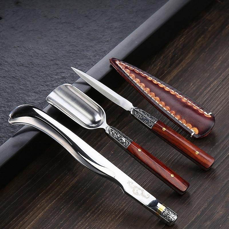 TANGPIN café et thé outil en acier inoxydable thé cérémonie ensembles faits à la main kung fu thé cuisine accessoires