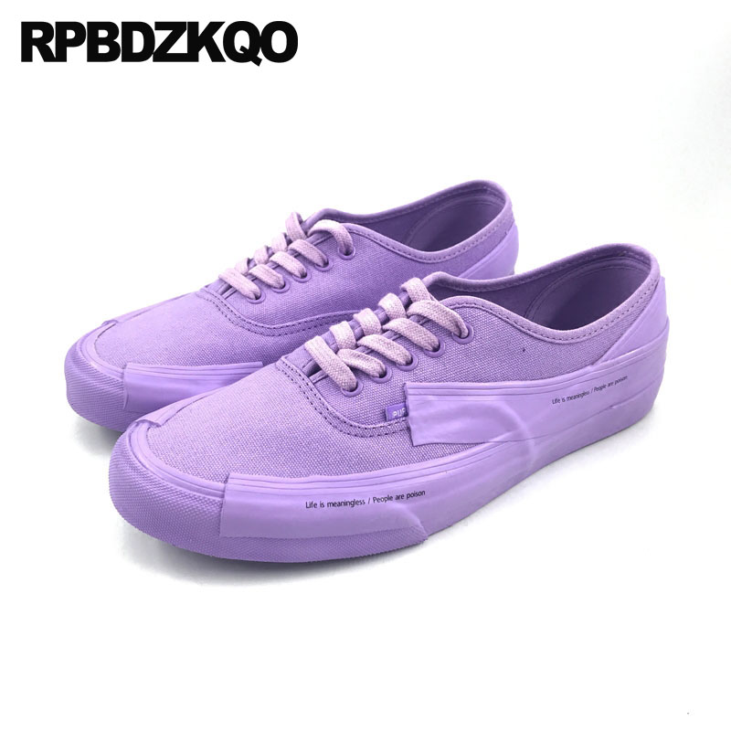 Breathable Rubber Sole Walking White Summer Plain Canvas Shoes Lace Up Flats Purple Chinese Sneakers Women Designer Round Toe 2017 patchwork lace up rubber sole canvas shoes breathable super leisure women casual shoes with flats student shoes rm 05