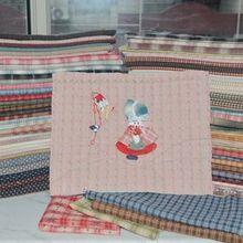 Пряжа-окрашенная ткань 25*24 ручная работа лоскутные одеяла 20 различных стилей Хлопок сельская полоса