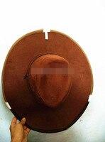 1 PC Folding Ventilated Beekeeping Fishing Veil Hat Fly Net Black Beekeeper Western Cowboy Hat Cap Beekeeping Hat