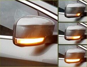 Image 2 - 2 Pcs LED Bên Cánh Gương Chiếu Hậu Chỉ Báo Blinker Repeater Năng Động LED Tín Hiệu Cho Xe Ford FOCUS 2 3 Mondeo