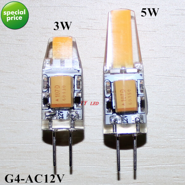 G4 Led Lamp Ac12v 3w/5w Led Corn Bulb Living Room Decorative Light Bulbs Low-carbon Energy-saving Bulbs Free Shipping To Ensure Smooth Transmission Led Bulbs & Tubes