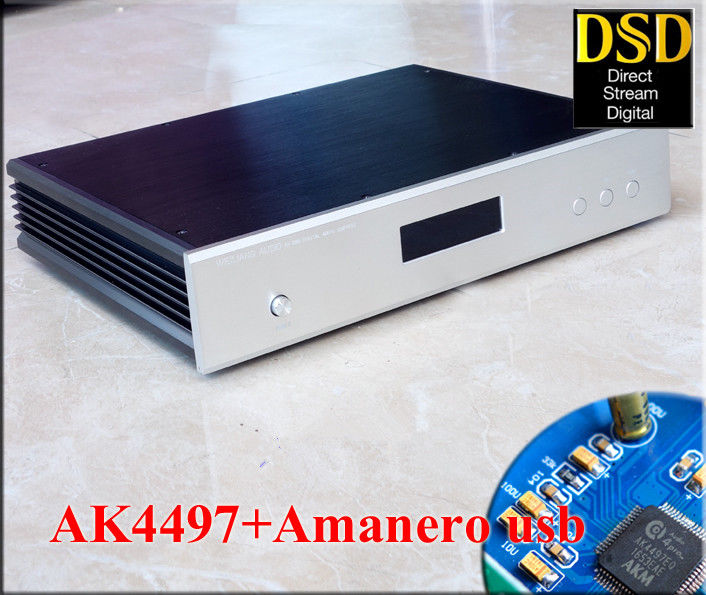все цены на High Definition AK4497 Audio Decoder Hi-Fi Amanero USB DAC DSD256 PCM384K 32BIT Desktop Amplifier онлайн