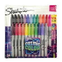 Находчивый маркером набор 12/24 Цветной прекрасно Пуля для школы и офиса рисунок дизайн Краски Арт маркер поставки канцелярские