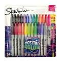 Sharpie Marker Pen-Set 12/24 Farbige Fein Kugel Für Schule & Büro Zeichnung Design Farben Kunst Marker Liefert Schreibwaren