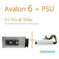 [Продано] Asic шахтер Avalon 6 3.5TH Bitcoin Miner 3500GH новые Btc шахтер лучше чем Antminer S5 с БП Plug & Play