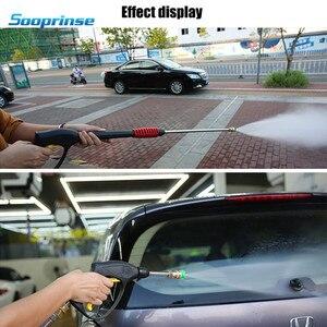 Image 5 - Sooprinse เปลี่ยนแรงดันสูงเครื่องซักผ้าล้างรถโฟมปืนล้างฝุ่นเครื่องมือ 4 โฟมหัวฉีด MAX 3600 PSI 2020 ใหม่