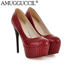 2017 New Arrival Plus Big Size 31-44 White Black Red Blue Fashion Sexy High Heel Platform Spring Lady Shoes Women Pumps D1061