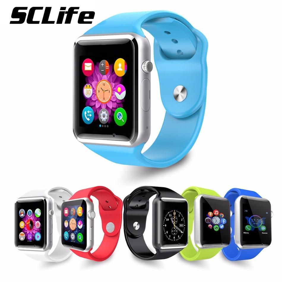 2016 New Smartwatch A1 Bluetooth font b Smart b font font b Watch b font Support