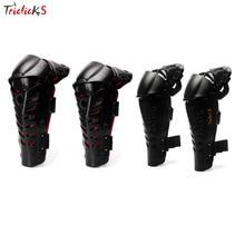 Triclick Adults Knee Shin Armor Protector Guard Pads Knee Guards Protective Gear Knee Pads Fit Bike Motorcycle Motocross Racing
