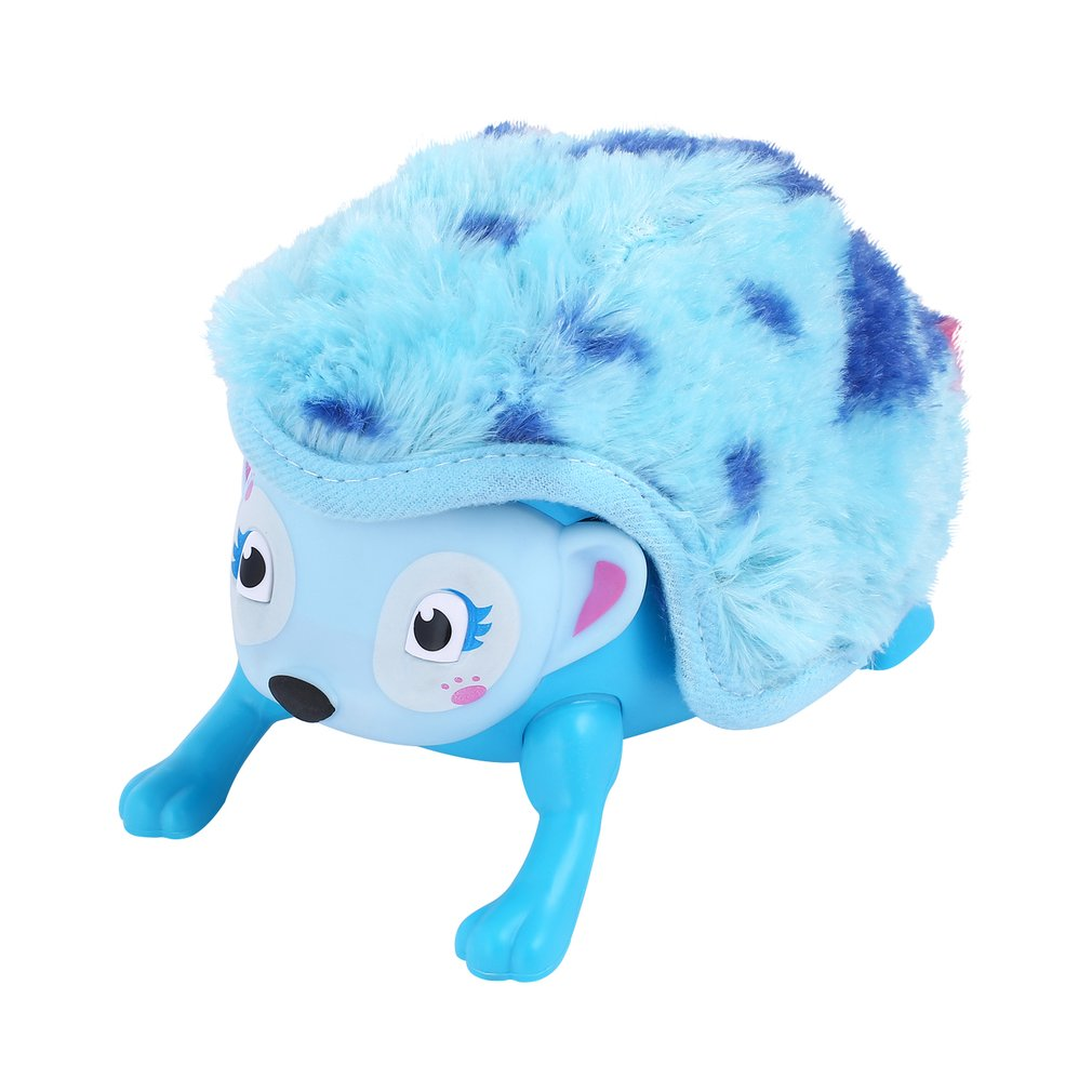 Baby Toys Whirl Interactive Hedgehog Electronic Pet with Multi-modes Lights & Sounds Touch with Hedgehog Rolling Induction Toys