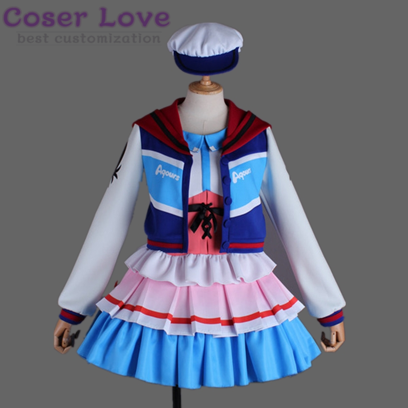 LoveLive Sunshine Aqours Next SPARKLING Over the Rainbow Kurosawa Ruby Cosplay Carnaval Costume Halloween Christmas Costume