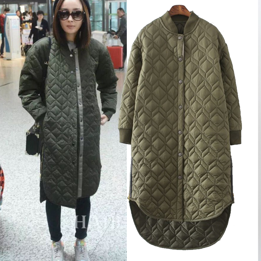 Winter Women Fashion Long Thick Warm Down Cotton Jacket Women Plus Size High Quality Army Green Casual Coat Women Overcoat Parka high quality thick warm wind down jacket female fashion casual cotton coat women winter coat jacket warm long outerwear overwear