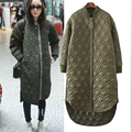 Winter Women Fashion Long Thick Warm Down Cotton Jacket Women Plus Size High Quality Army Green Casual Coat Women Overcoat Parka