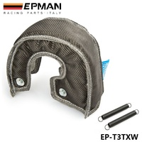 TANSKY EPMAN Carbon Fiber Turbo Blanket Heat Shield Cover High Performance FOR T3 GT37 GT30 EP
