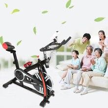 Крытый Фитнес спиннинг велосипед вращающихся спортивный велосипед с чайник светодио дный Дисплей тихий тренажерный зал дома Фитнес оборудования Рождественский подарок HWC