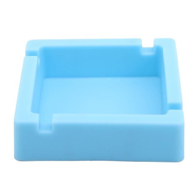 Small Size High Quality Square Shape Cigarette & Cigar Ashtray Portable Home Or Car Ashtray Easily Cleaning