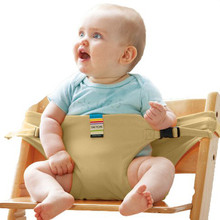 TAF TOYS Infant Chair Portable Seat Dining Lunch Chair Seat Safety Belt Stretch Wrap Feeding Chair Harness baby Booster Seat