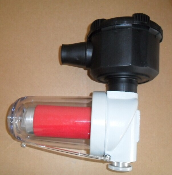 Oerlikon LEYBOLD original 88813003 Vacuum pump oil mist separator exhaust filter for D30C vaccum pump