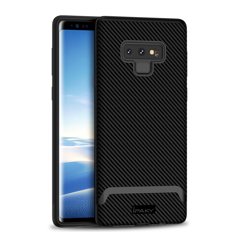 100% Brand Top Quality 3 In 1 Design Case For Samsung Galaxy Note 9 With Silicone Back And Pc Frame Cover For Note9