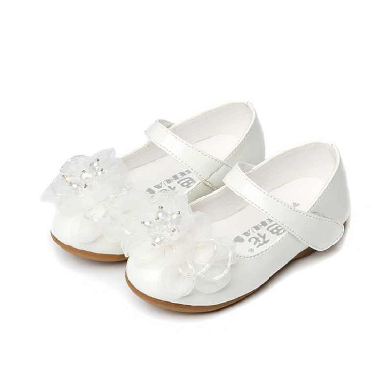 Children Mary Janes Flats Shoes Girls Princess Lovely Soft Bottom Sandals  Toddler Kids Cute Casual Party f9e435d1ef4b