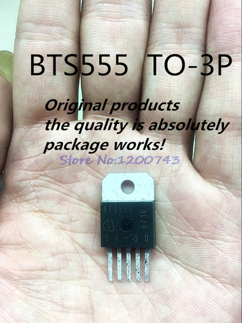 1pcs/lot BTS555 555 TO218-5 In Stock
