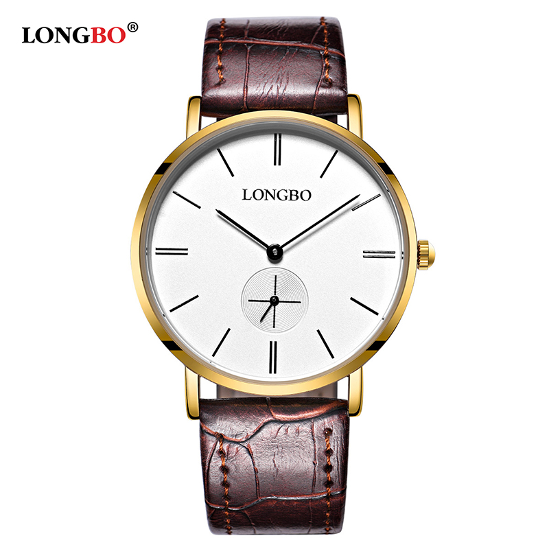 LONGBO Brand Fashion Lover Watches Classic Men Women Watch Waterproof Casual Couple Wristwatch Mujer New Hombre Reloj Gift 80320