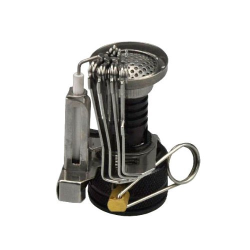 LGFM- Ultralight Backpacking Canister Camp Stove Burn er with Piezo Ignition 3.9oz