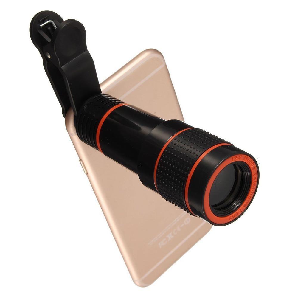 Untuk Kit Lensa Kamera Universal, Ponsel Teleskop Zoom-on Dilipat - Aksesori dan suku cadang ponsel - Foto 2
