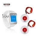 DAYTECH пейджер ресторан услуги кнопка вызова системы 433 мГц часы пейджер для кафе/больницы Elder аварийное оповещение вызова
