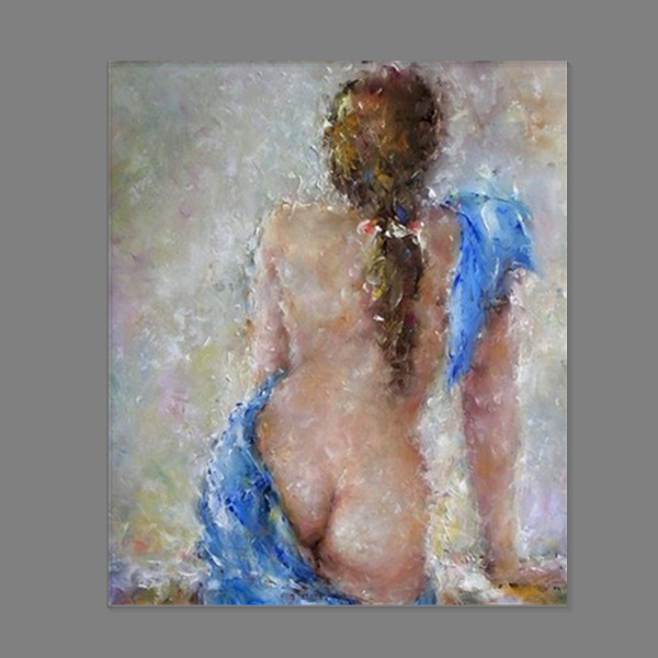 50 CM * 60 CM envío gratis hermosa espalda de mujeres desnudas ( sin ...