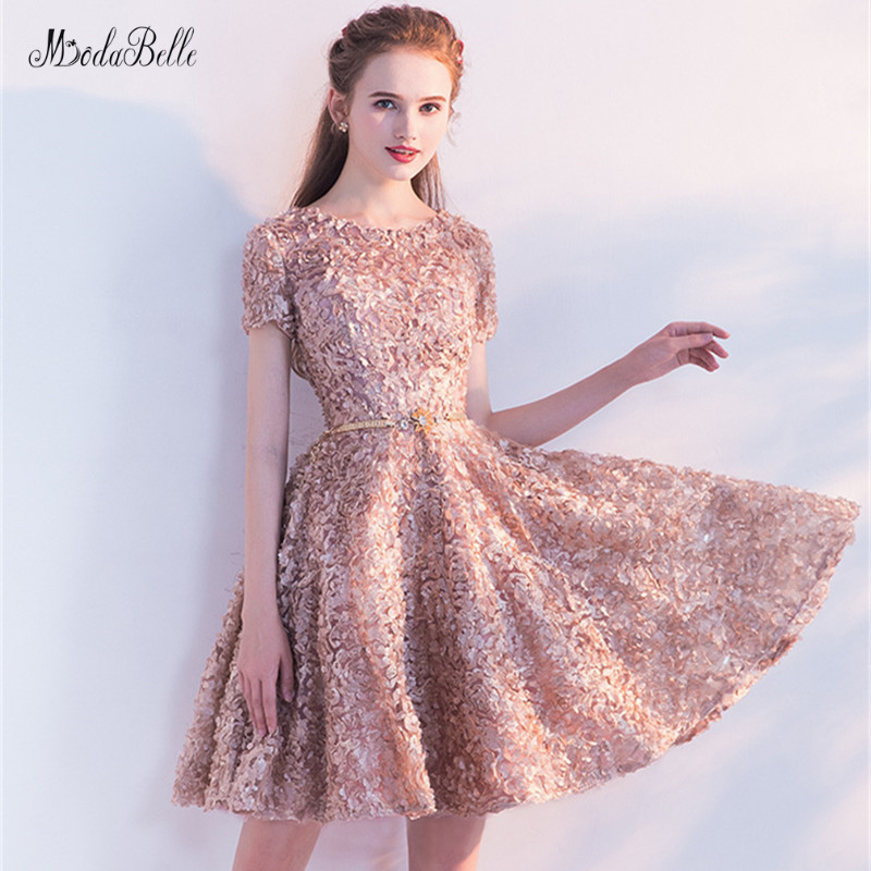 modabelle khaki Short   Prom     Dresses   Vestido Festa Black Lace Sexy Formal   Dress   Vestidos Cortos De Fiesta Elegantes De Gala