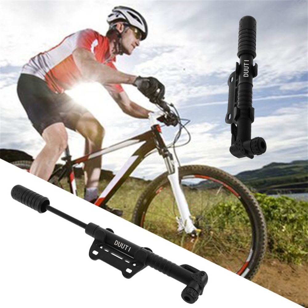 portable bike pump bicycle air pump mountain bike cycling tire infla XS