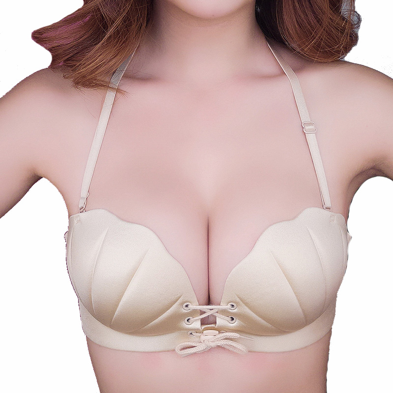STYIK Women Sexy Push Up Bra Invisible Bra Lingerie