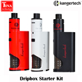 New Original Kanger Dripbox Starter Kit with Subdrip 7ml Capacity Tank 60W Dripmod Dripbox Kit Kangertech e electronic cigarette
