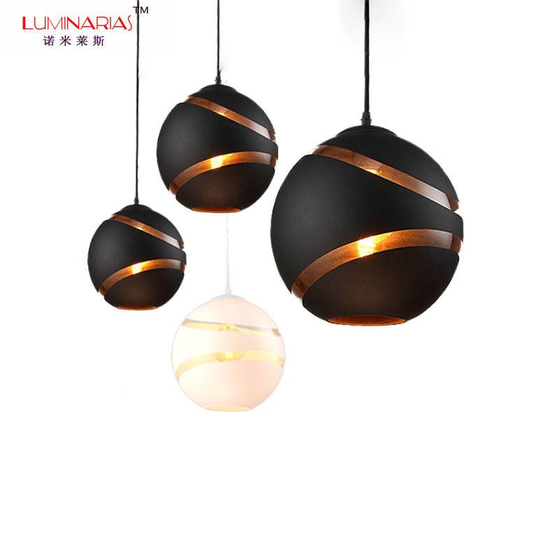 все цены на Nordic Home Glass Ball Pendant Lamp Lovely Design Cafe bar Dinning Room Pendant Lighting Restaurant Lighting E27 110V 220V