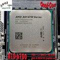 AMD APU A10-6700 ПРОЦЕССОР Настольный Процессор Quad-Core 3.7 ГГц L2 = 4 М 65 Вт Встроенный HD 8670D графика FM2 904Pin Бесплатная доставка