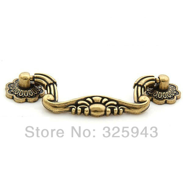 10pcs 76mm Vintage Kitchen Cabinet Knobs And Handles