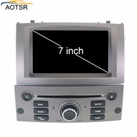 IPS Android 8.0 Car DVD player head unit For Peugeot 407 2004 2010 Auto Radio FM Stereo GPS Navigation Audio Video Octa core BT