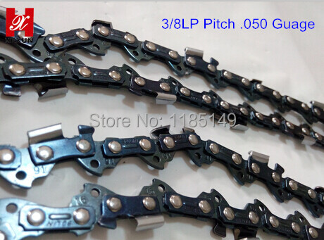 91VS Professional Chainsaw Hand Saw Chain /Retail Pocket Chain 3/8 Pitch  .050 Guage SAE8660  raw material 100feet/PC