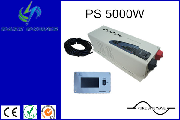 single phase low frequency inverter 5000w, pure sine wave inverter