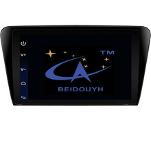 BEIDOUYH 10.2 inch Android Car GPS Navigation for Skoda Octavia 2014-2016 support can-bus/APP Download/SWC/RDS Radio/DVR/wifi