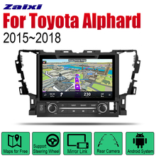ZaiXi Android 2 Din Auto Radio DVD For Toyota Alphard 2015~2018 Car Multimedia Player GPS Navigation System Radio Stereo 2 din car multimedia player android auto radio for mini one cooper s hatch 2018 2019 dvd gps car radio stereo gps navigation