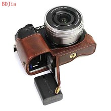 Newest Fashional Camera Bag Case For Sony ILCE-6500 A6500 PU