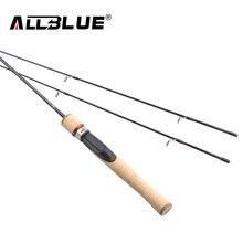 ALLBLUE Viking Spinning Rod UL/L 2 Tips 1.68m Ultralight 1/32-1/4oz 2-8LB Carbon Soft Fishing Rod pesca peche Fishing Tackle