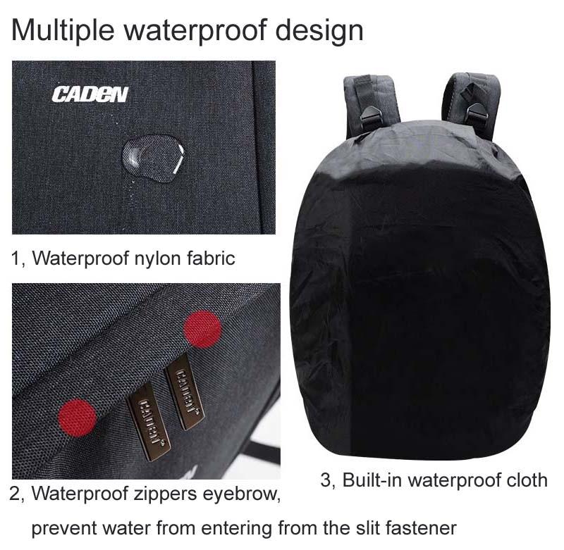 caden D10 Camera Bag 13